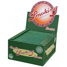 Box Pack-Smoking King Size Green