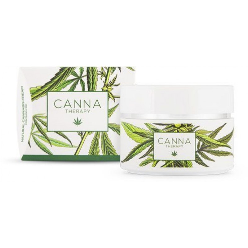 CannaTherapy CBD Skin Cream,  50ml.